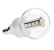Lâmpada Redonda E14 6 W 450 LM 3000K K Branco Quente/Branco Frio 30 SMD 5050 AC 85-265 V G