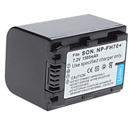 Digital Video Battery Replace Sony NP-FH70+ for Sony DCR-HX1 DCR-A380 and More (7.2v, 1500 mAh)