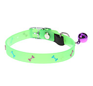 Chat / Chien Colliers Fluorescent / Os Vert Textile