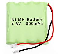 AAA 4.8V 800 mAh NI-MH rechargeable