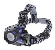 Plastic High Power Zoom Headlamp for Night Fishing/Hiking/Camping/Hunting/Cycling