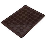 DIY Baking Big Size 48 Holes Silicone Macaroon Cookies Mat