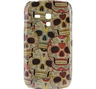 Schedel patroon Hard Case voor Samsung Galaxy S3 Mini I8190