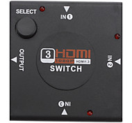 3 a 1 HDMI Switcher para PS3/Xbox360/PC