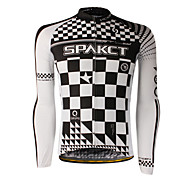 SPAKCT 100%Polyester Long Sleeve Breathable/Quick-Drying Men Cycling Jersey S13C11