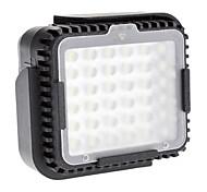 cámara cn-lux360 llevó la lámpara de luz de vídeo para Canon Nikon DSLR y videocámara dv