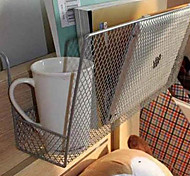 Iron Bedside Storage Basket