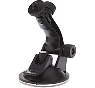 Long Arm Car 1/4 Inch Screw Head Suction Cup Mount Stander for Camera, DVR, GPS (KF-001)