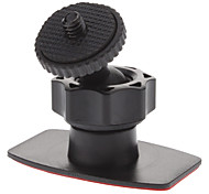 Car Screw Head 360 Degree Rotatable 3M Stickup Mount Stander for Camera (HD-051A, Load Bearing: 500g)