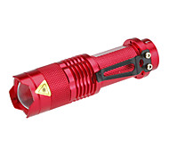 LED Flashlights/Torch / Handheld Flashlights/Torch LED 1 Mode 200 LumensAdjustable Focus / Rechargeable / Tactical / Super Light /