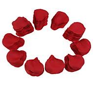 Partito da sposa di seta petali di rosa rossa (2000-pack)
