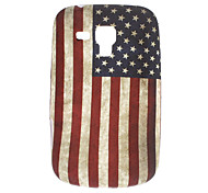 Retro Design The Old Glory patroon Soft Case voor Samsung Galaxy Trend Duos S7562