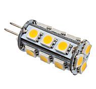 Lâmpada LED em Formato de Espiga de Milho Branca Quente (12V)