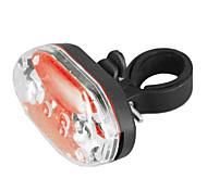 9-LED 7-el modo de luz roja impermeable a prueba de choques de la bicicleta de seguridad cola (2xAAA)
