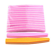 10PCS Sponge Nail Files Diamond(Random Colors)