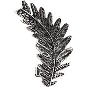 z&X® americano viento punky manera que restaura hojas antiguas pendientes de clip de oreja