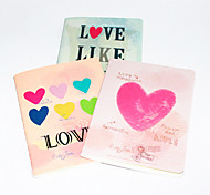 Amor Notebook Tampa Coração (cor aleatória)