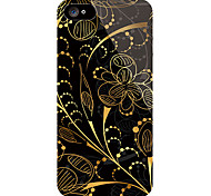 Leaf Pattern Front and Back Sticker for iPhone 5