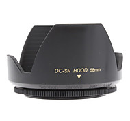 Mennon 58mm Lens Hood for Digital Camera Lenses 16mm+, Film Lenses 28mm+