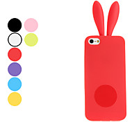 Rabbit Design Soft Case for iPhone 5/5S (Assorted Colors)