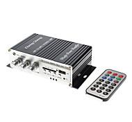2 canales de 80W Hi-Fi Amplificador Stereo Reproductor de MP3 para Autos Motos (FM / SD / USB, HS-9004)