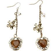 Love Flower Pearl Earrings