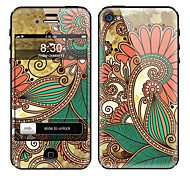 Elegant Painting Pattern Front and Back Full Body Protector Stickers for iPhone 5