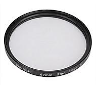 Banner 6pt 67mm Filtro Estrella para Canon, Nikon, Sony y más