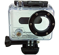 Fashionable Transparent  High-Strength Waterproof Case For GOPRO Cameras (Transparent)