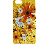Yellow Flower Pattern Hard Case for iPhone 5/5S