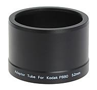 52мм объективом фильтр и трубка для Kodak P880 Цифровая камера Черный