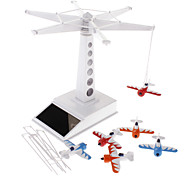 3D DIY Solar Power Tower Toy Set