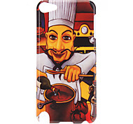 Chef with Beard Pattern Protective Hard Case for iPod Touch 5
