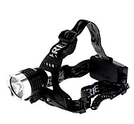 AC Rechargeable 3-Mode Cree XM-L T6 LED Headlamp (1000LM, 2x18650)