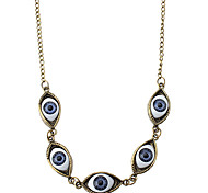 Z&X®  Retro Ancient Ways Eyes Simulation Exaggeration Sweater Chain
