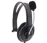 Headphone Microphone Headset for Xbox 360(Black)