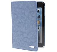 cassa di cuoio dell'unità di elaborazione strisce w / stand per iPad mini 3, Mini iPad 2, ipad mini