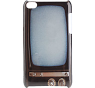 TV Pattern Hard Case for iPod Touch 4