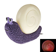 Light Sensor Cute Snail Style Color Changing Night Light (USB)