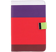 Leechee Pattern Leather Samsung Mobile Phone Cases for P3100