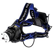 Enfoque Zoom ajustable 3-Mode del Cree XM-L T6 LED linterna (1000LM, 10W, 4xAA)