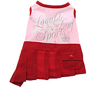Lovely Sleeveless Pleated Skirt for Dogs (Assorted Color,XS-XL)