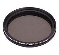 FOTGA Variable Neutral Density ND2-ND400 Fader Filter (Black, 46mm)