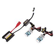 12V 35W H7 HID Xenon Lamp Conversion Kit Set (Super Slim Ballast)