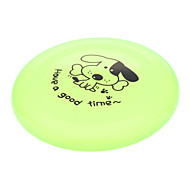 Dog Toy Pet Toys Flying Disc Plastic Orange Purple Green Blue