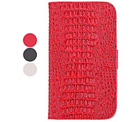 Stand Available Leather Samsung Mobile Phone Cases for Galaxy Note 2/7100(3 Colors)