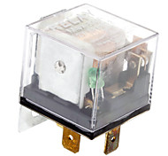 80A 4-Pin Power Relay para carro (DC 12V)