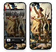 """Da Code ™ Skin for iPhone 4/4S: """"Liberty Leading the People"""" by Eugène Delacroix (Masterpieces Series)"""