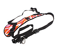 Quick Strap Shoulder Strap for SLR/DSLR Cameras (Red and White Camouflage)