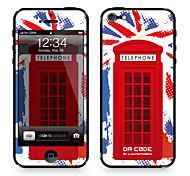 "Da Code ™ Skin for iPhone 5/5S: ""U.K., Britain, United Kingdom"" (Flags Series)"